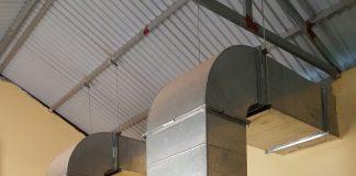 máy nén khí kobelco có đường hút gió và tản nhiệt riêng