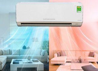 máy điều hòa lúc nóng lúc lạnh