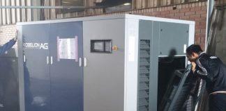 lắp máy tại nhà máy gạch á mỹ